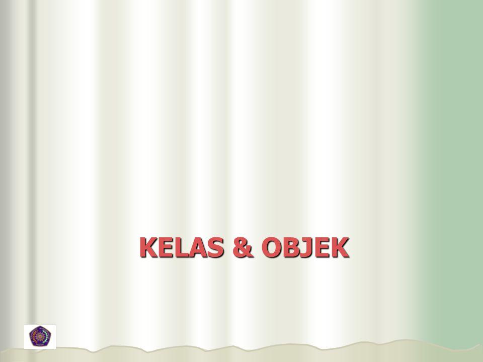 KELAS & OBJEK