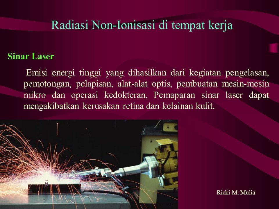Sinar Laser Ricki M.