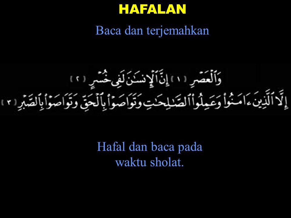 Bumi, 28 Muharram 1423 Kamis, 11 April 2002 Flying Book 0.14 Demikian BACAAN Al-Quran NO 0.14 fahmi -basya @ telkom.