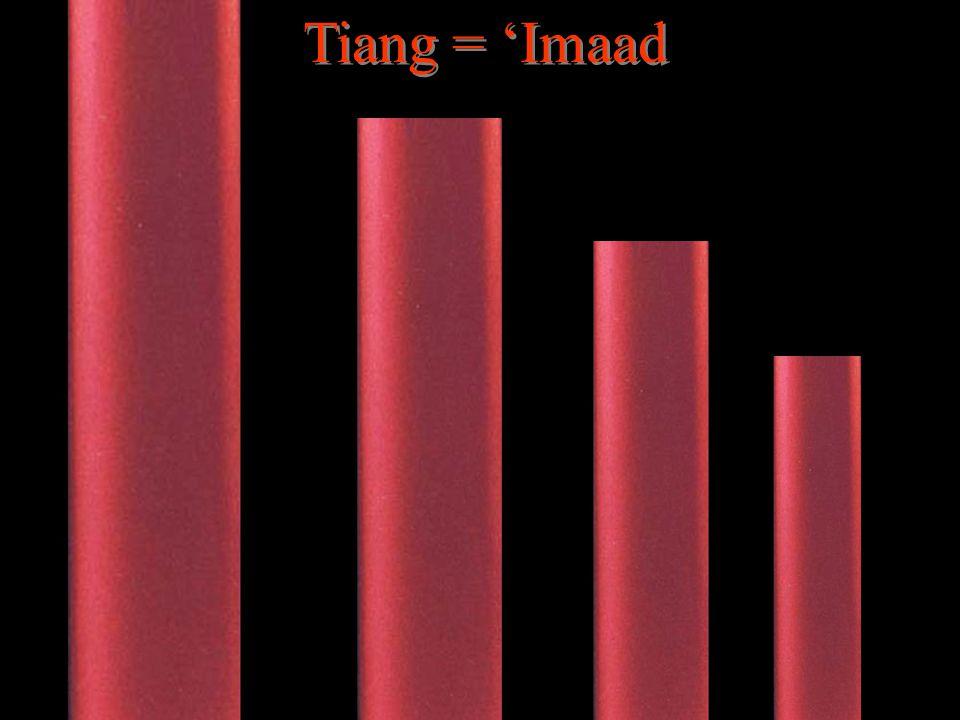 Tiang = 'Imaad Tiang = 'Imaad