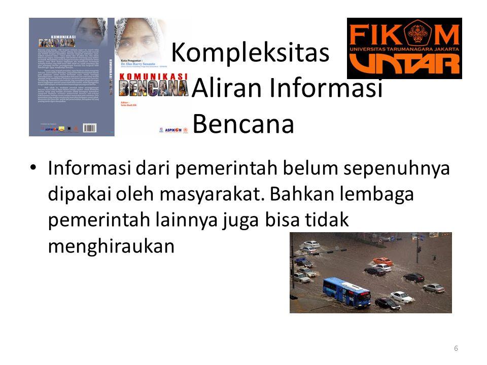 Kompleksitas Aliran Informasi Bencana 7