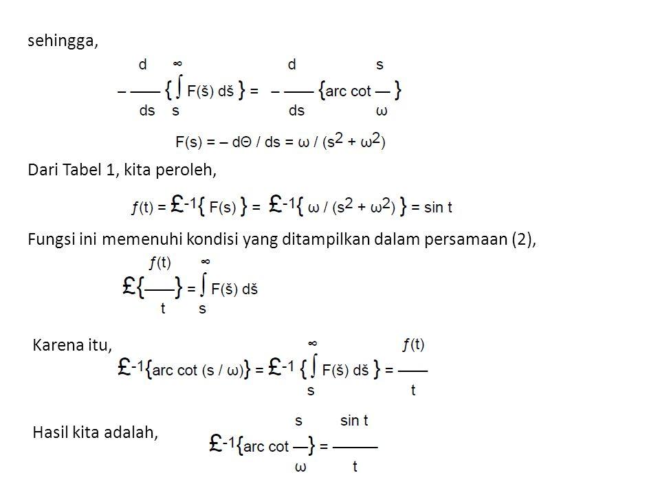 sehingga, Dari Tabel 1, kita peroleh, Fungsi ini memenuhi kondisi yang ditampilkan dalam persamaan (2), Karena itu, Hasil kita adalah,