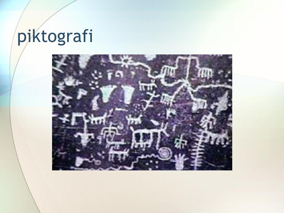 piktografi