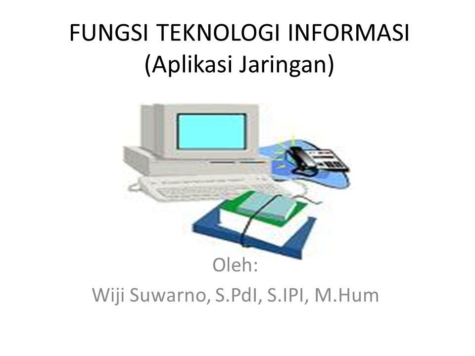 Cakupan Teknologi Informasi Teleko munikasi Teknologi Informasi Komputer Jaringan digital Audio,video Komunikasi optik