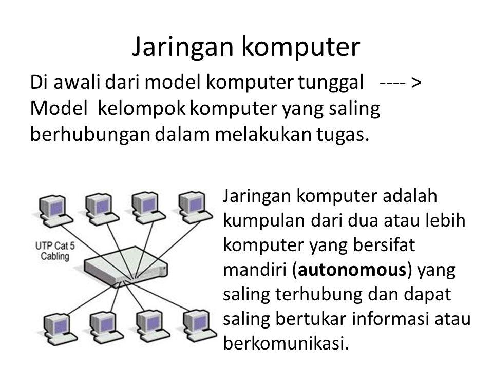 Manfaat jaringan komputer Jaringan komputer untuk perusahaan, Di gunakan oleh perusahaan memiliki cabang di beberapa lokasi yang saling berjauhan, menghubungkan sistem yang saling terkait pada setiap cabang perusahaan tersebut.