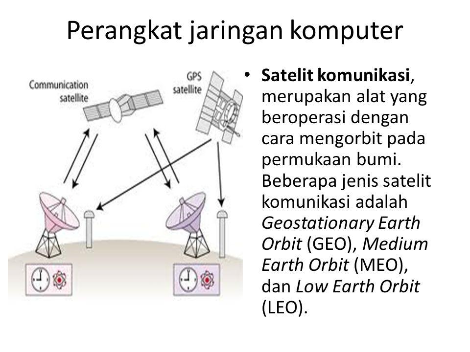 Jenis teknologi transmisi Sistem broadcast.