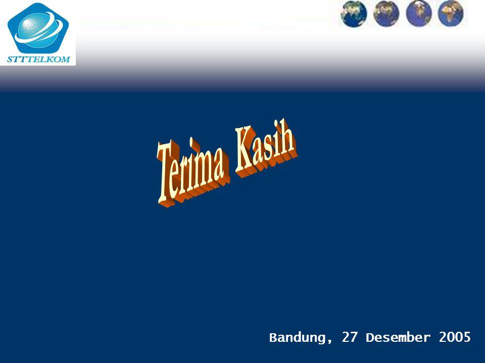 Bandung, 27 Desember 2005