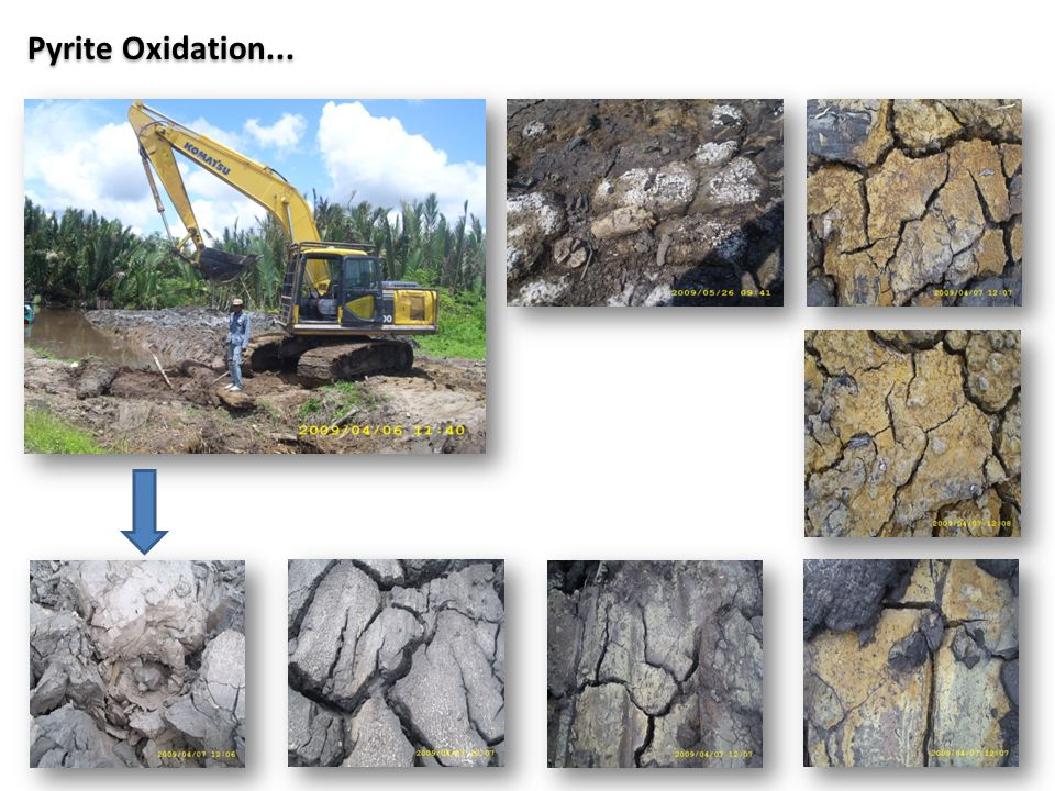 Pyrite Oxidation...