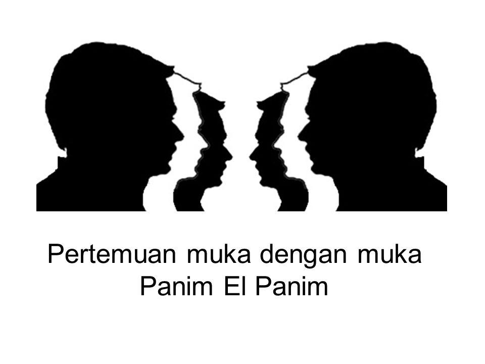 Pertemuan muka dengan muka Panim El Panim