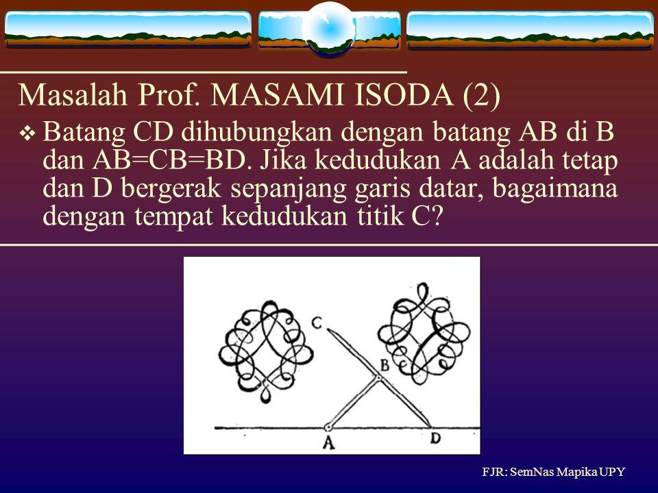 Bagi  ABC ini menjadi 5 segitiga yang luasnya sama menggunakan 4 garis BDEFG. Masalah/Soal Luas Segitiga (1) FJR: SemNas Mapika UPY