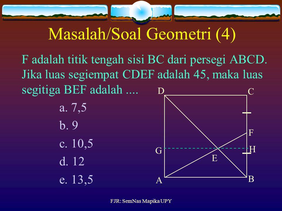 Diketahui AB diameter lingkaran dan BC garis singgung yang menyinggung Ingkaran di titik B. Jika AB = 20 cm dan BC = 15 cm, maka CD =.... a. 9 b. 8 c.