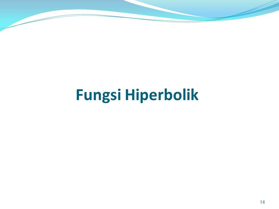Fungsi Hiperbolik 14