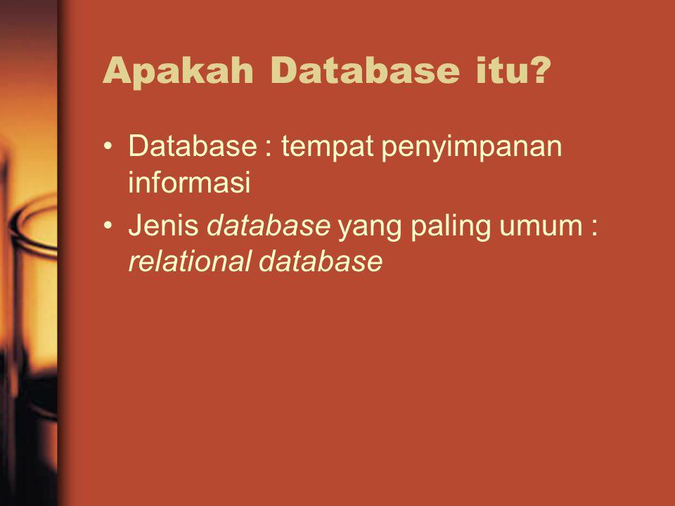 Apakah Database itu.