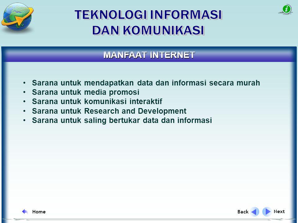 PENGERTIAN INTERNET Internet adalah sebuah sistem komunikasi global yang menghubungkan berbagai mesin komputer dan jaringan-jaringan komputer di seluruh dunia.
