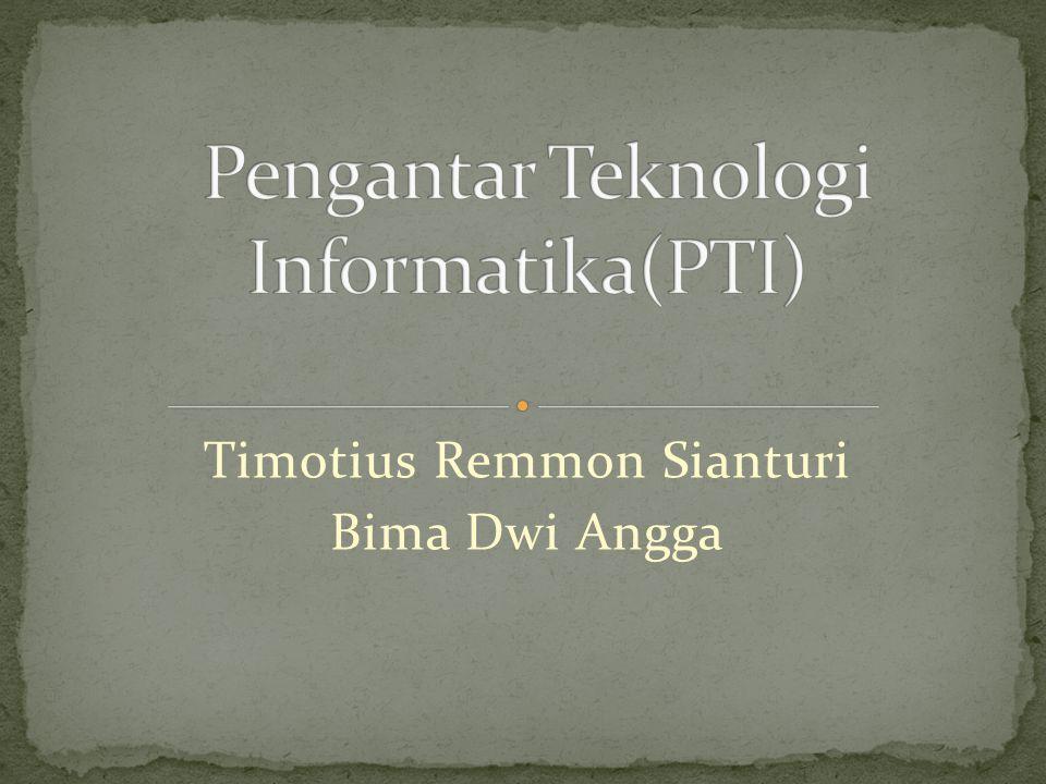 Timotius Remmon Sianturi Bima Dwi Angga
