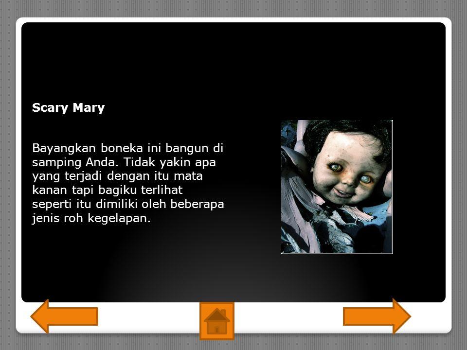 Scary Mary Bayangkan boneka ini bangun di samping Anda.