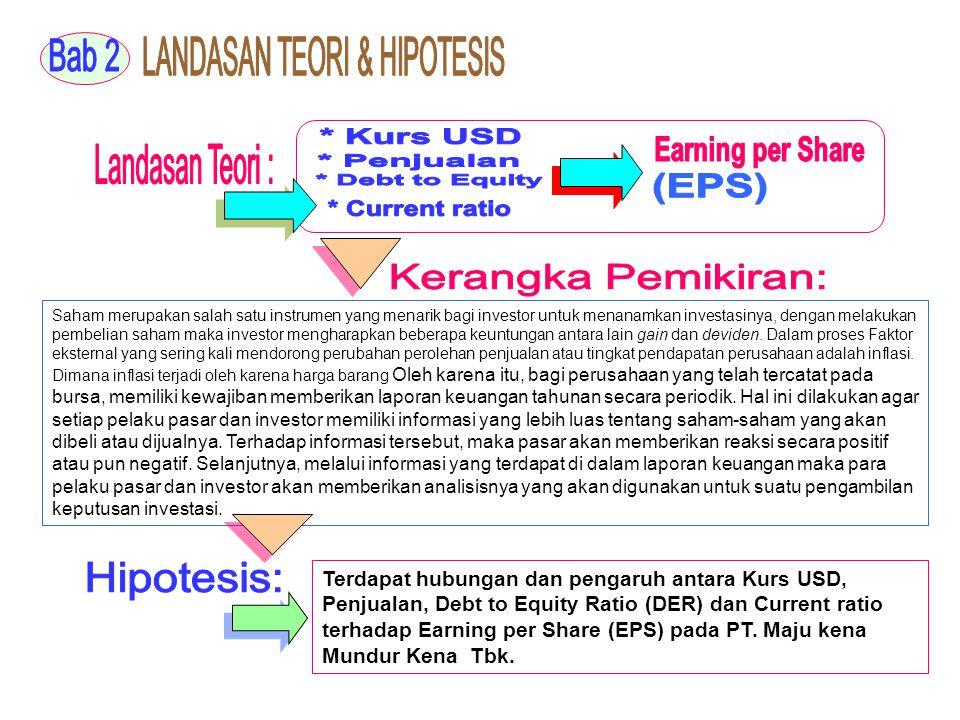 Pengolahan Statistik Program SPSS Rel 12,0 Pengolahan Statistik Program SPSS Rel 12,0 Normalitas, Multiko, Heteroskedastisitas, Otokorelasi Bila t-hitung > t-tabel, maka terdapat korelasi antara X dan Y Bila t-hitung < t-tabel, maka tidak ada korelasi antara X dan Y Y = bo + b1X1+b2X3 + b3X3 + b4X4