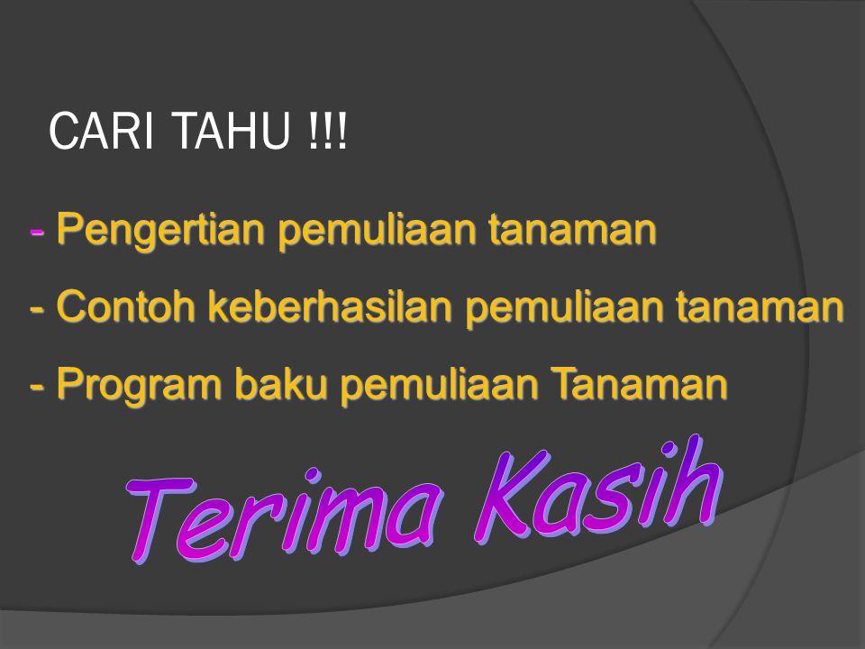 CARI TAHU !!.