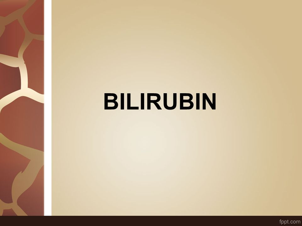 Conjugated bilirubin : 1.Water soluble 2.Less toxic to cells 3.Can pass glomerular filtering membrane Not found in plasma unless Liver cell injury Obstruction Then will be found in urine Bilirubin dipstick: (+) - Unconjugated bilirubin : Not water soluble Toxic to cells –Bound to albumin making it soluble in plasma –Transported through plasma to liver for excretion