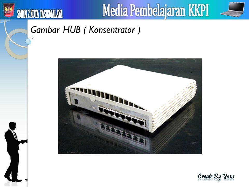 Gambar HUB ( Konsentrator )