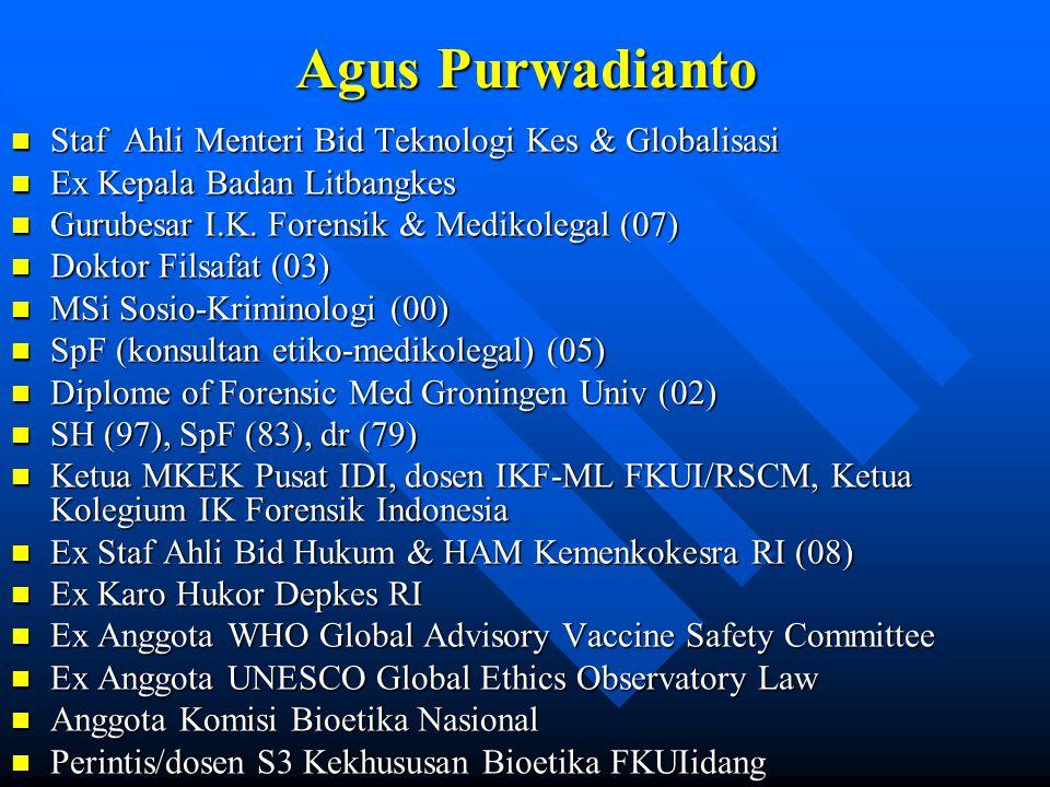 Tim Pengajar n Dr.dr.Yuli Budiningsih SpF n dr. Oktavinda Safitri SpF n dr.