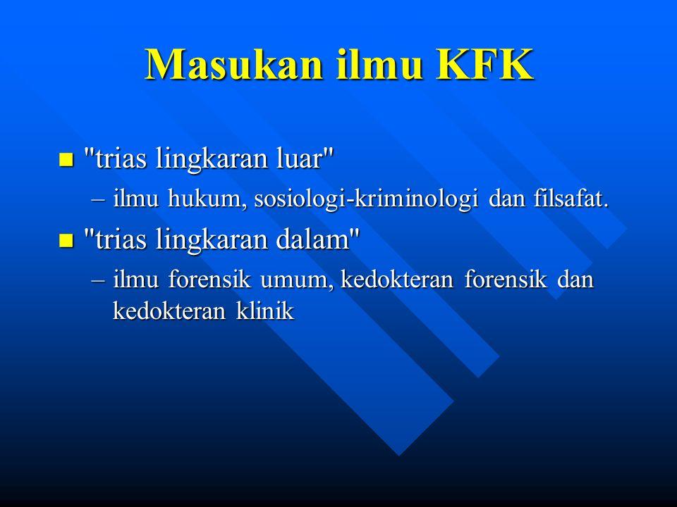 Masukan ilmu KFK n