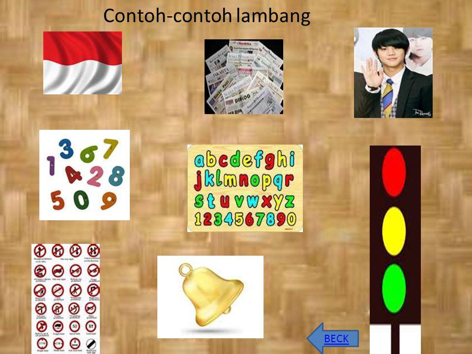 BECK Contoh-contoh lambang