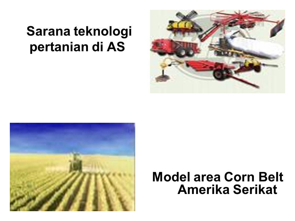 4. Perekonomian A. Pertanian Hasil utama: - jagung ( corn belt) - gandum ( wheat belt) B. Pertambangan Hasil utama: - bijih besi ( di danau Superior)