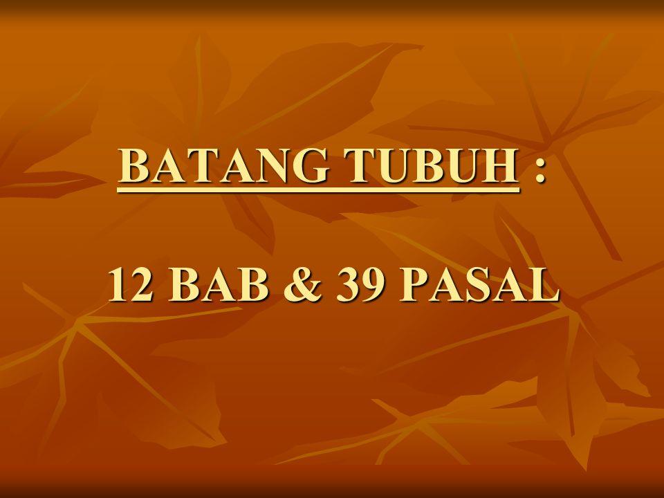 PERBEDAAN AD HASIL MUNAS GP DI KALBAR (PONTIANAK) TAHUN 2003 & MUNAS GP TAHUN 2008 DI JAKARTA : a.Disahkan dengan Kepres No.
