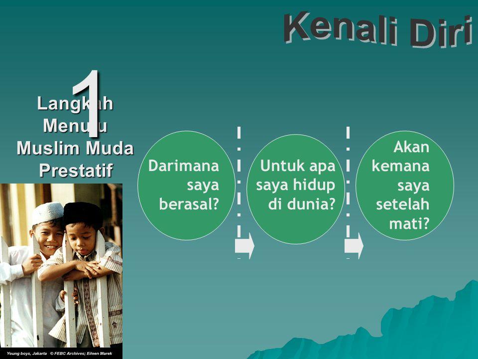 Langkah Menuju Muslim Muda Prestatif 4 Kenali Diri Terima Diri Kembangkan Diri Tingkatkan Diri