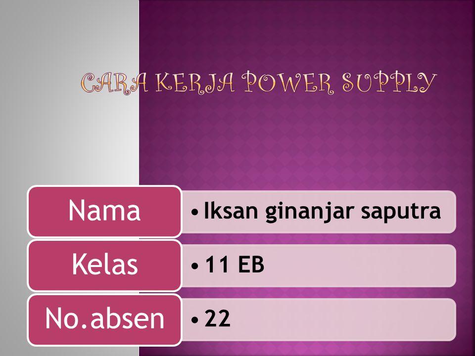 Iksan ginanjar saputra Nama 11 EB Kelas 22 No.absen