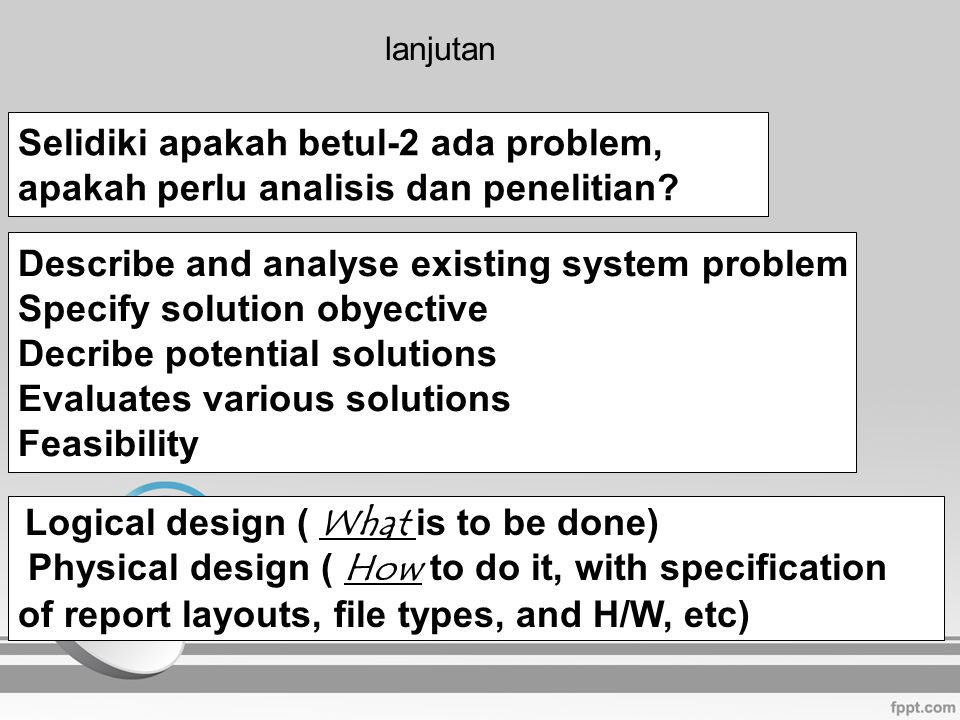 Program : satu set instruksi dalam bahasa komputer yang akan dijalankan komputer dalam memproses data.