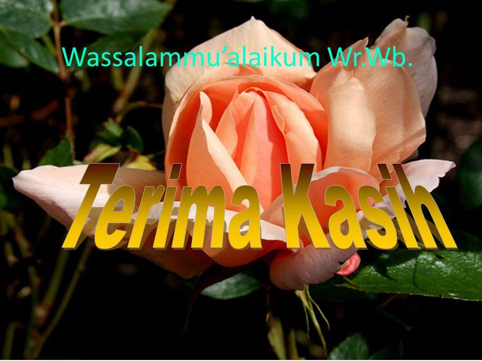 14 Wassalammu'alaikum Wr.Wb.