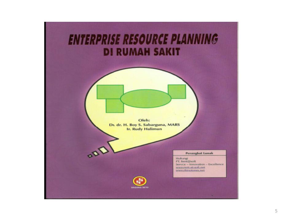6 1.Enterprise Resource Planning 2.Pelayanan Rumah Sakit 3.Sumber Daya Rumah Sakit 4.Implementasi ERP di Rumah Sakit 5.Pengembangan Sistem