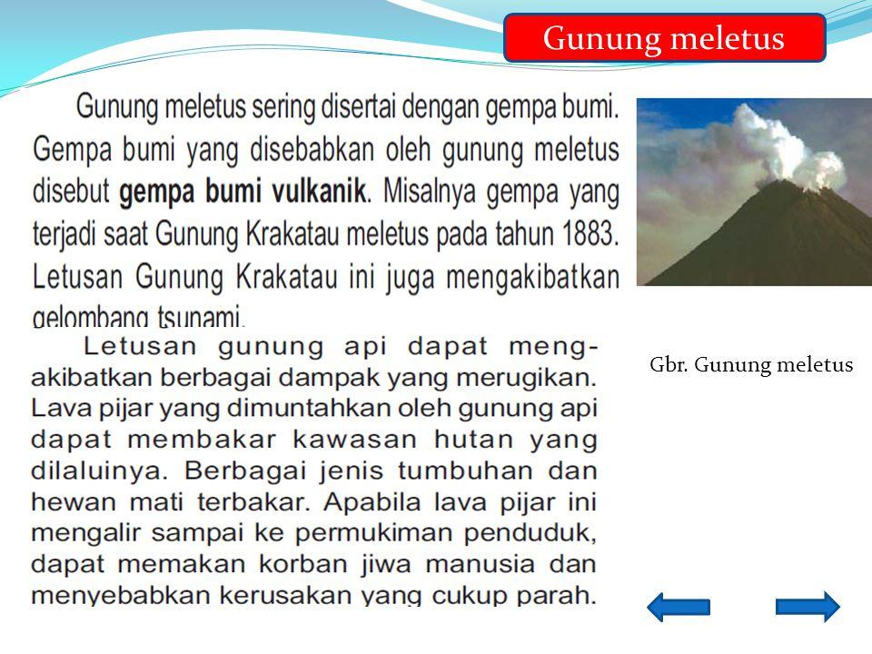 B GunungGunung Meletus