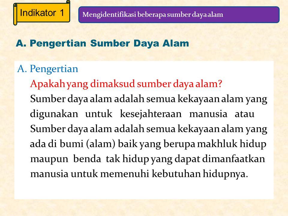 Bab 14 SUMBER DAYA ALAM Standar Kompetensi 7.
