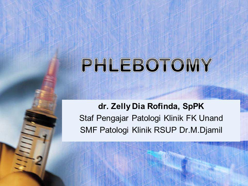 dr. Zelly Dia Rofinda, SpPK Staf Pengajar Patologi Klinik FK Unand SMF Patologi Klinik RSUP Dr.M.Djamil