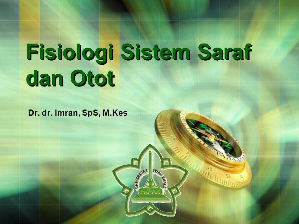 LOGO Fisiologi Sistem Saraf dan Otot Dr. dr. Imran, SpS, M.Kes