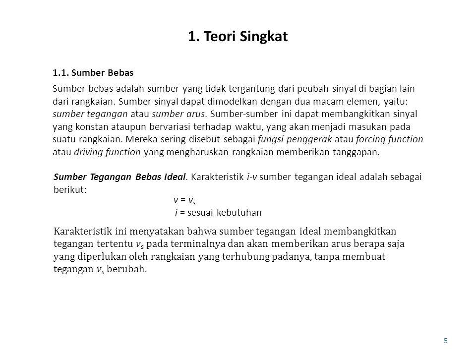 6 Sumber Arus Bebas Ideal.