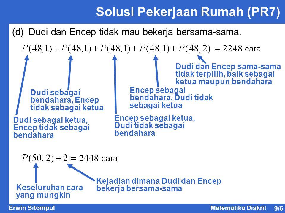 9/16 Erwin SitompulMatematika Diskrit Terminologi Graf 1.