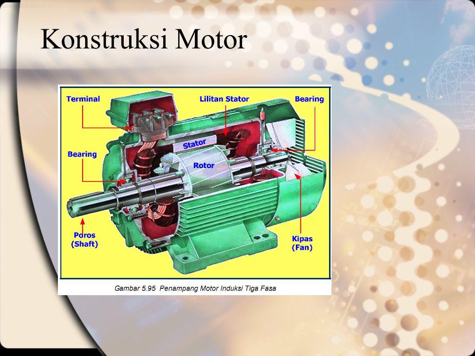 Konstruksi Motor