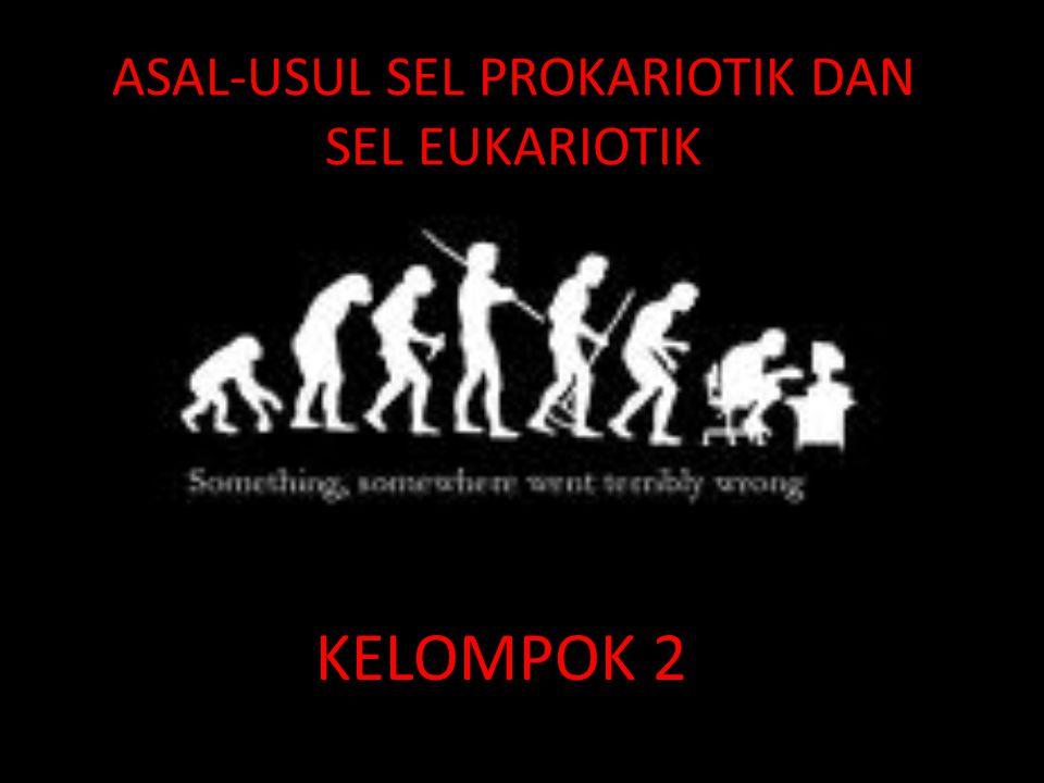 ASAL-USUL SEL PROKARIOTIK DAN SEL EUKARIOTIK KELOMPOK 2