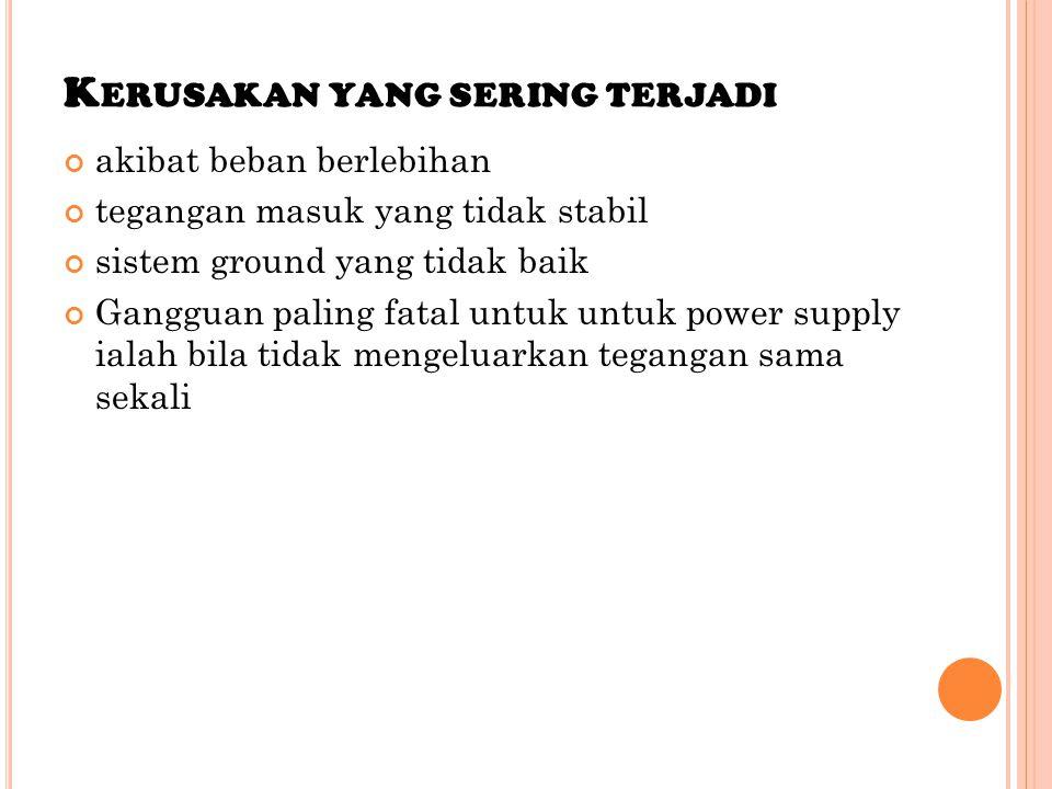A DAPUN CARA PRAKTIS UNTUK MEMPERBAIKI POWER SUPPLY KOMPUTER DAPAT DI LAKUKAN SEBAGAI BERIKUT : [1].