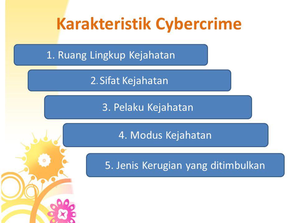 """Apa itu Cybercrime ? Pengertian yang diberikan Organization of European Community Development, yang mendefinisikan computer crime sebagai:""""any illegal"""