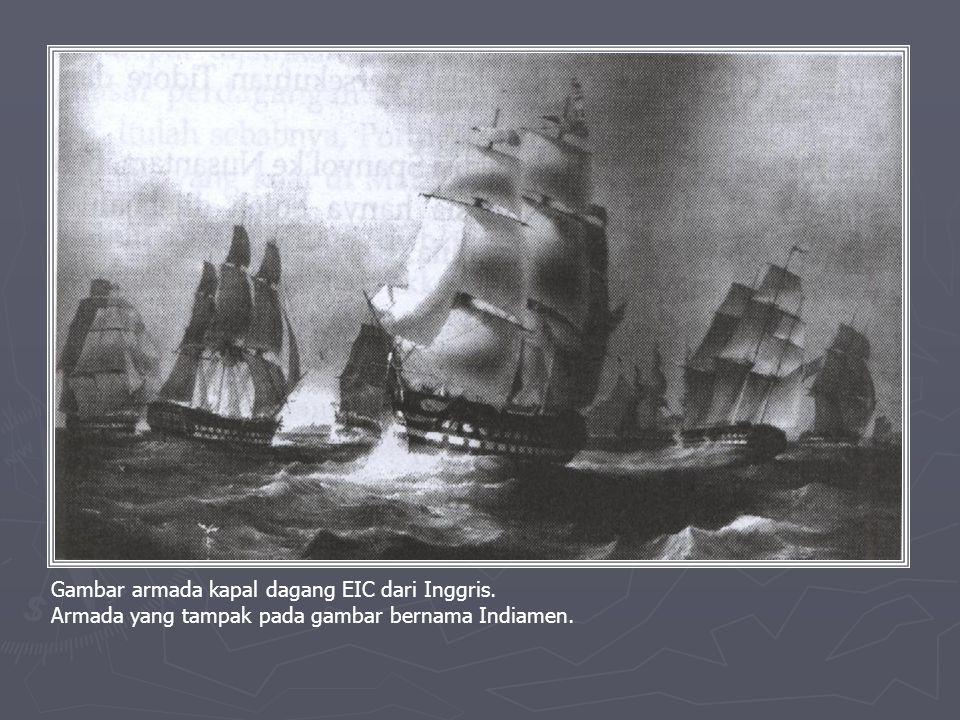 ► EIC terdesak oleh Belanda akhirnya menyingkir. ► Walapun terdesak dari Nusantara EIC berhasil menanamkan pengaruhnya dalam perdagangan di Asia. ► Pa