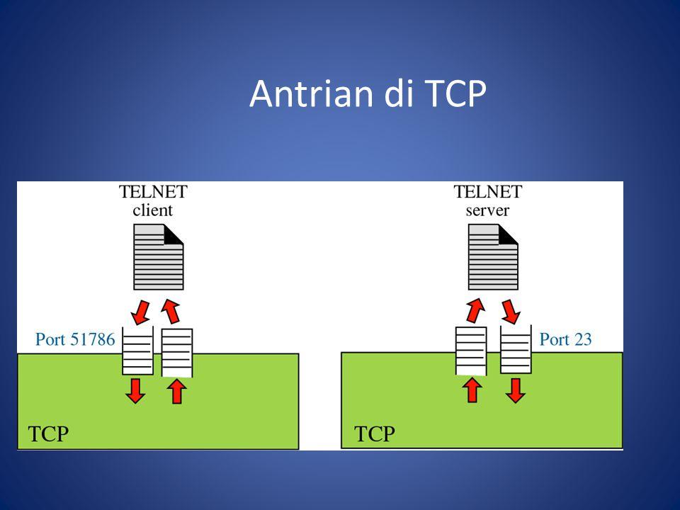 Antrian di TCP