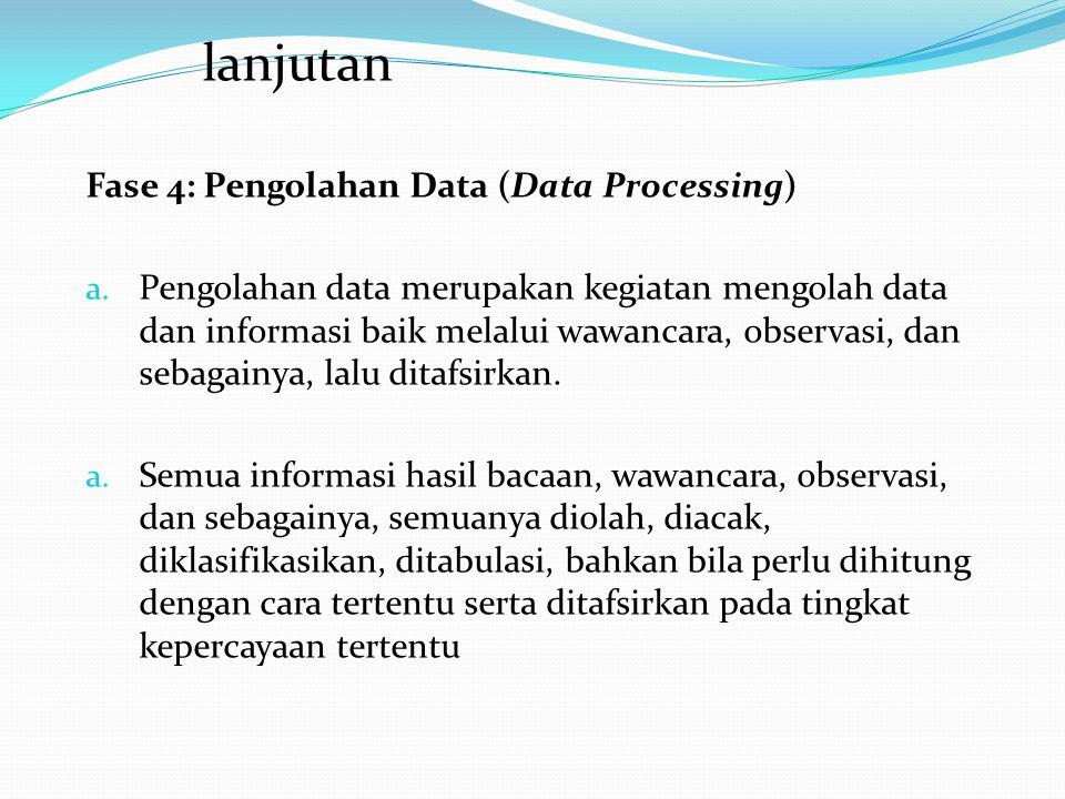 Fase 3: Pengumpulan Data (Data Collection) a. Ketika eksplorasi berlangsung guru juga memberi kesempatan kepada para siswa untuk mengumpulkan informas