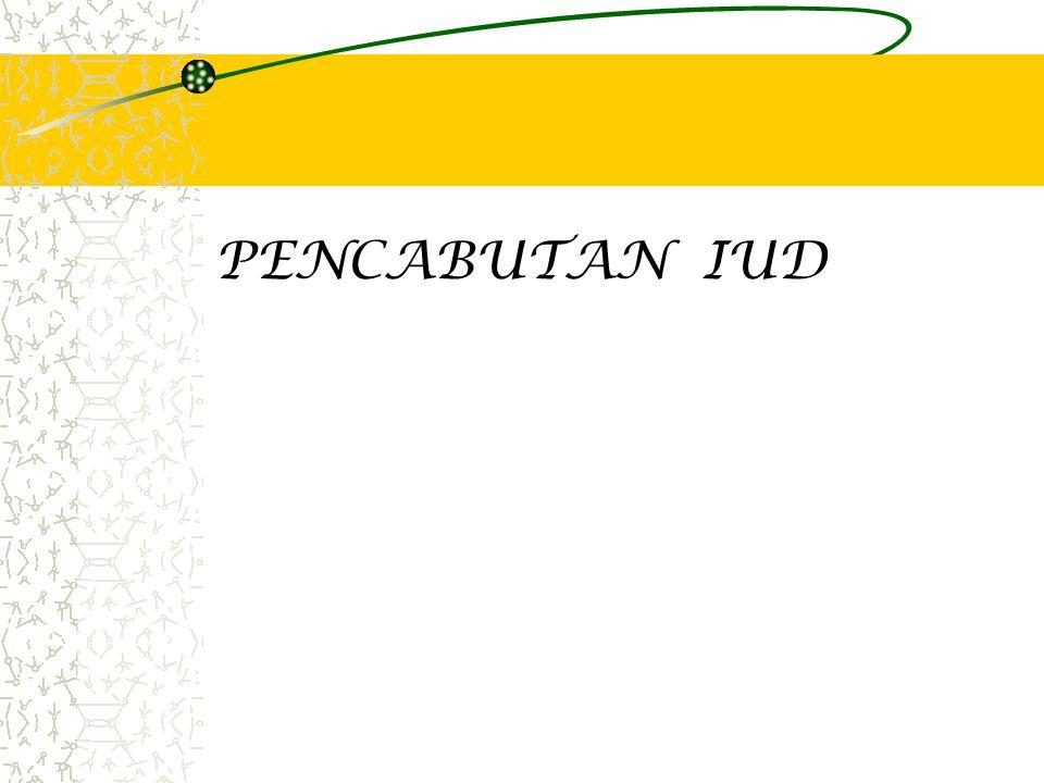 PENCABUTAN IUD