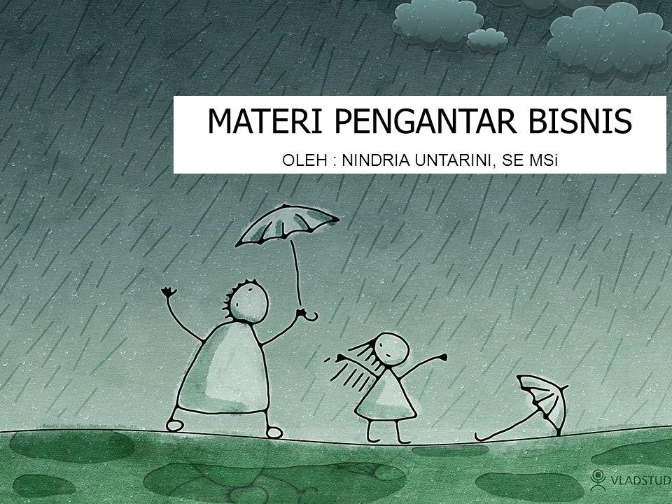 Bisnis berasal dari kata business / busy yang dalam Indonesia artinya sibuk.