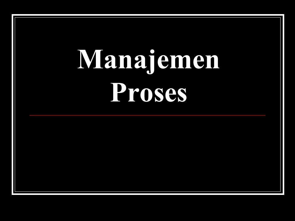 Manajemen Proses Pertemuan IV dan V